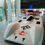 Dallara Academy - la rampa espositiva