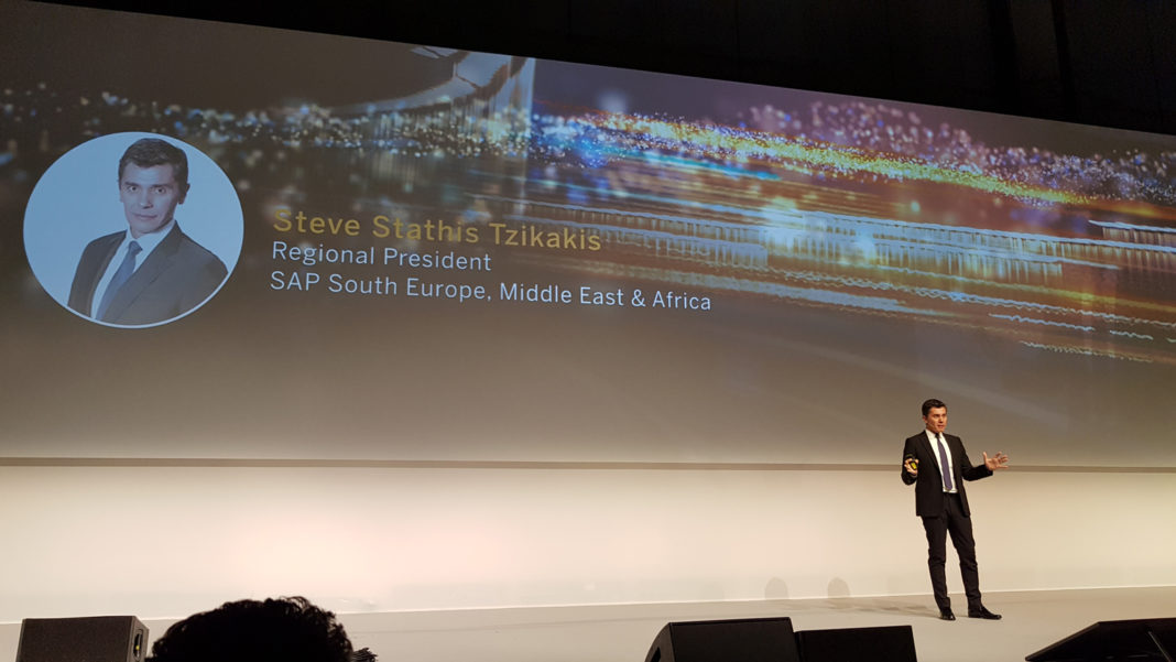 SAP Now 2018 - Steve Stathis Tzikakis, Regional President SAP South Europe, Middle East & Africa