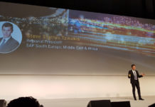 SAP Now 2018 - Steve Stathis Tzikakis, Regional President SAP South Europe, Middle East & Africa