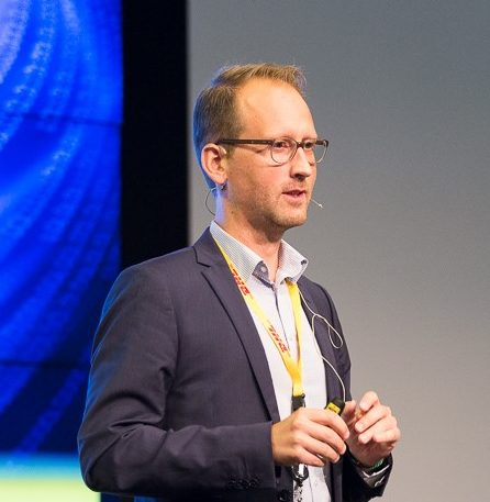 Tobias Larsson, responsabile di Resilience360, DHL Customer Solutions & Innovations