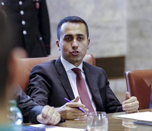Luigi Di Maio, Ministro dello Sviluppo Economico