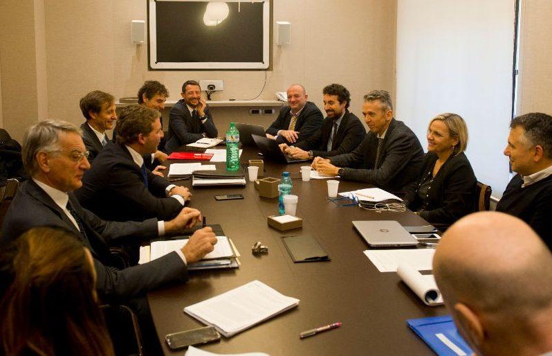 Presenti i rappresentanti del MiSE, di Infratel e della Conferenza delle Regioni e Province autonome