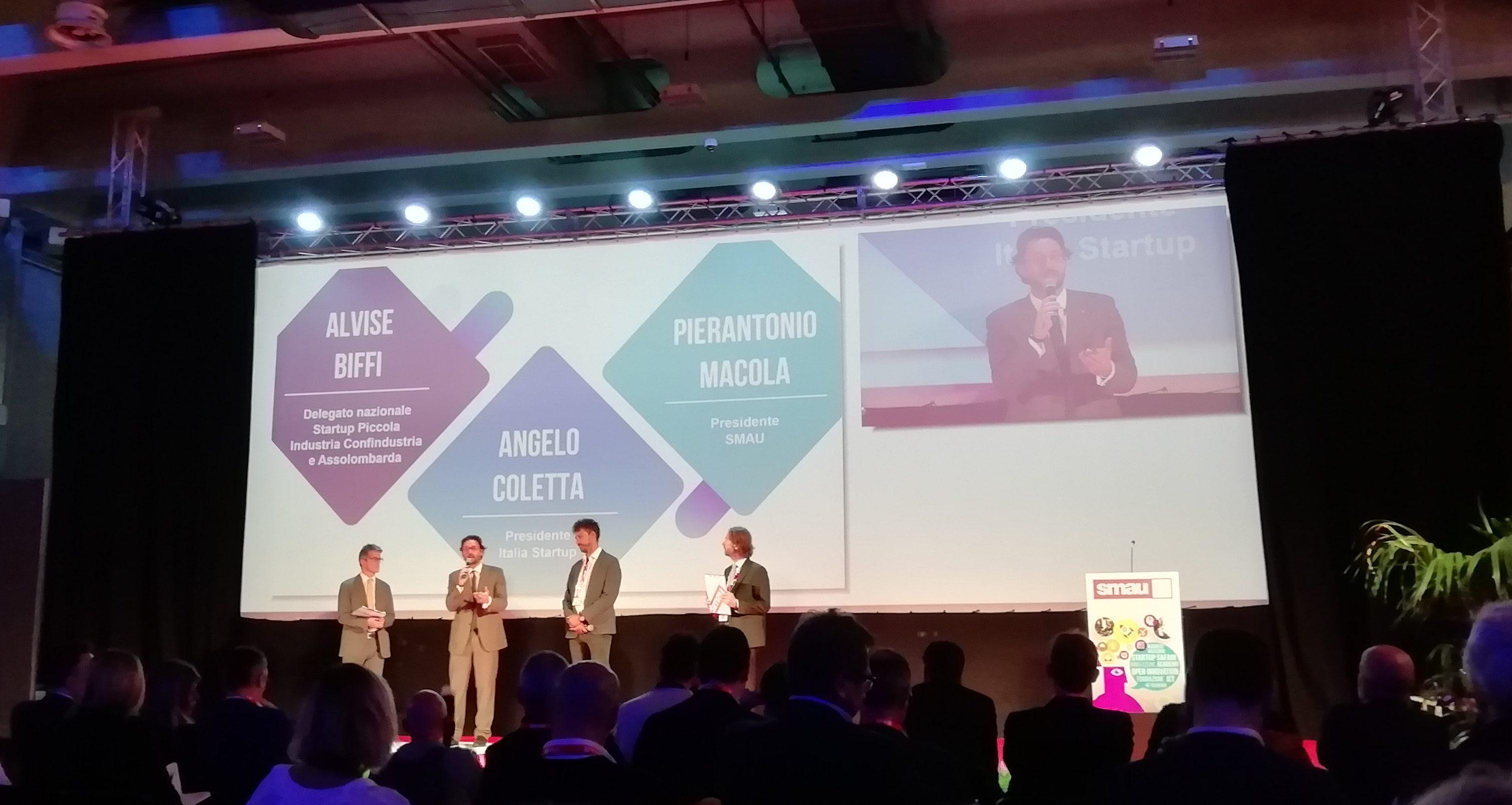 Angelo Coletta, Presidente di Italia Startup