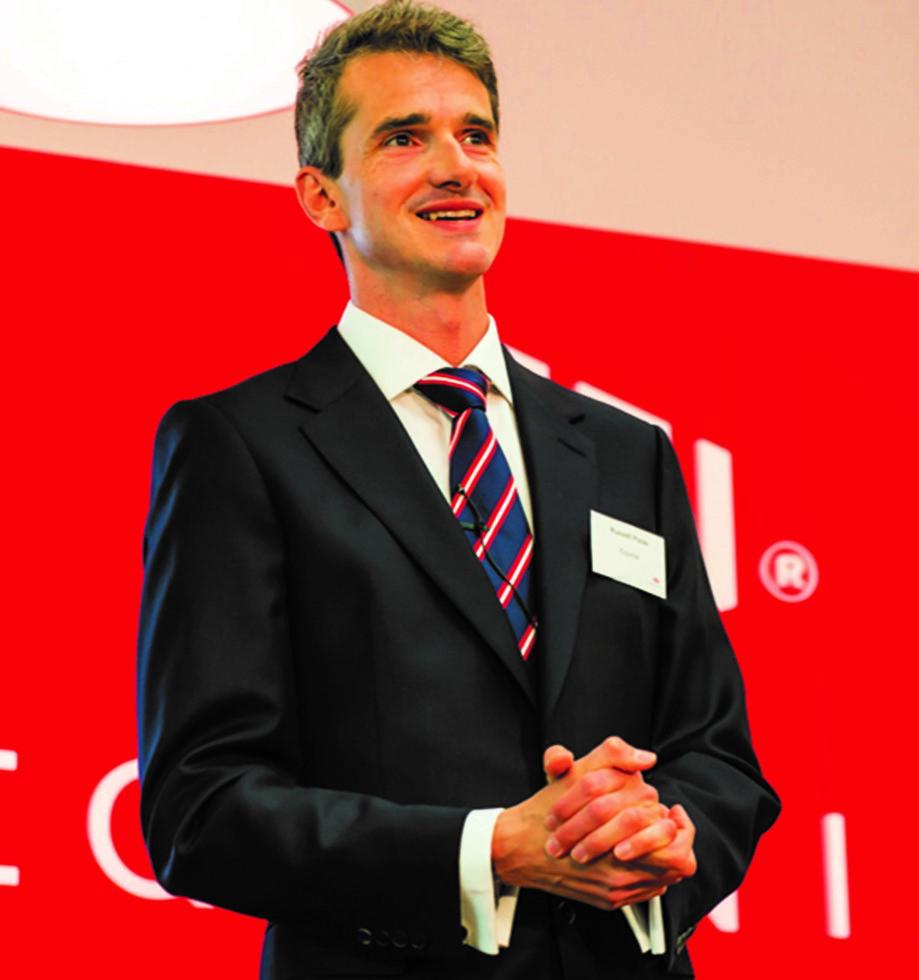 Russell Poole, Amministratore Delegato di Equinix
