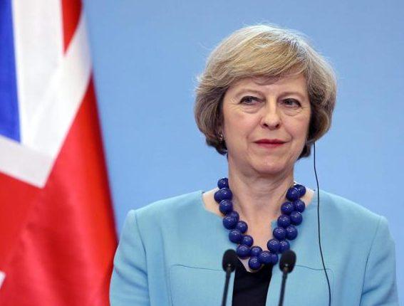 Theresa May, Primo Ministro del Regno Unito