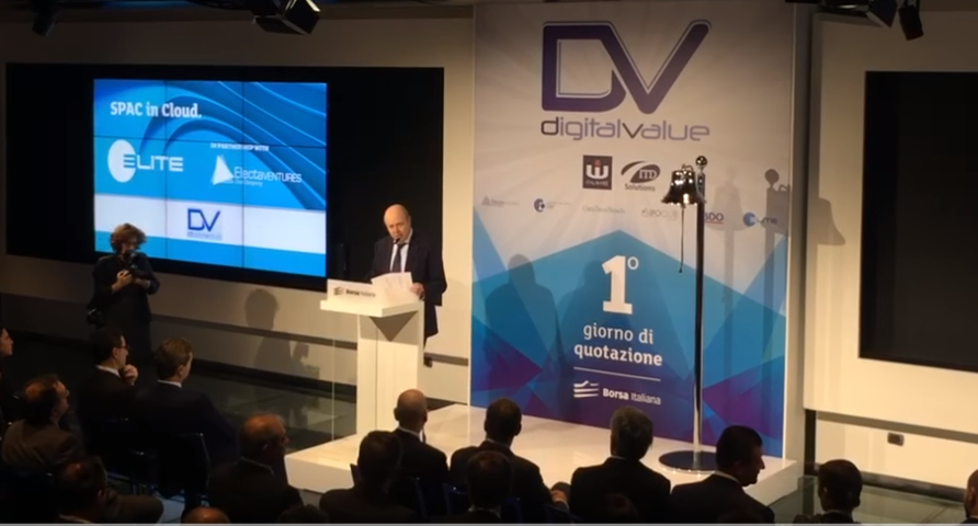 Digital Value - Primo giorno di quotazione