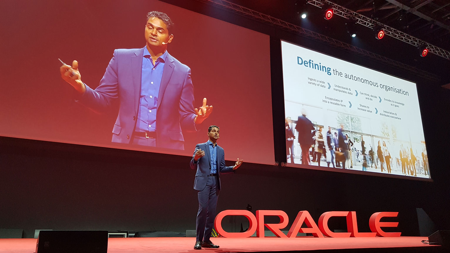 Oracle Cloud Day 2018 - Neil Sholay, VP Digital Innovation di Oracle
