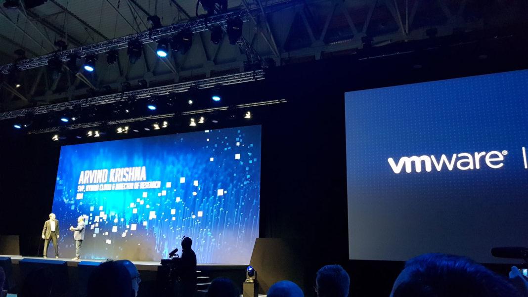 VMworld 2018 - Pat Gelsinger, Ceo di VMware & Arvind Krishna, SVP, Hybrid Cloud & Director of Research di IBM