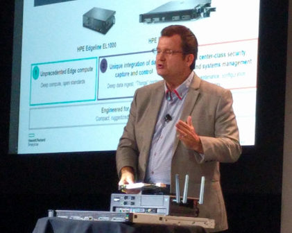 Tom Bradicich, Vice President e General Manager,Converged Servers, Edge and IoT Systems di HPE