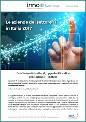 Le aziende del settore IT in Italia 2017 – SlowLetter Gennaio 2018