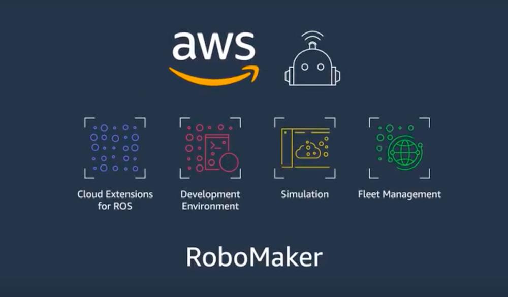 AWS RoboMaker, nuovo servizio per costruire, testare e distribuire applicazioni di robotica intelligente