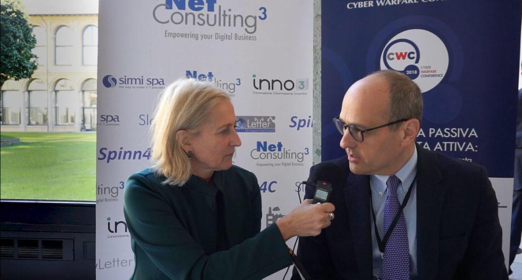Emanuela Teruzzi, Direttore Responsabile di Inno3 intervista Paolo Lezzi, CEO di InTheCyber alla Cyber Warfare Conference 2018