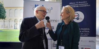 Umberto Gori, professore Emerito Università di Firenze ed Emanuela Teruzzi, Direttore responsabile di Inno3 alla Cyber Warfare Conference 2018