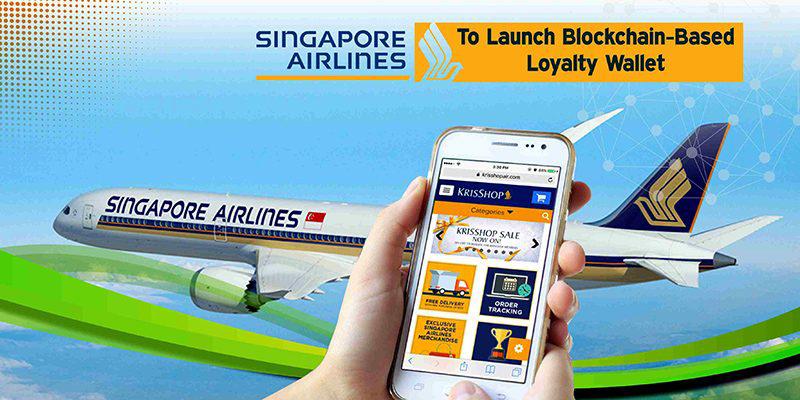 Singapore Airlines inaugura Krysflyer, programma fedeltà basato su Blockchain