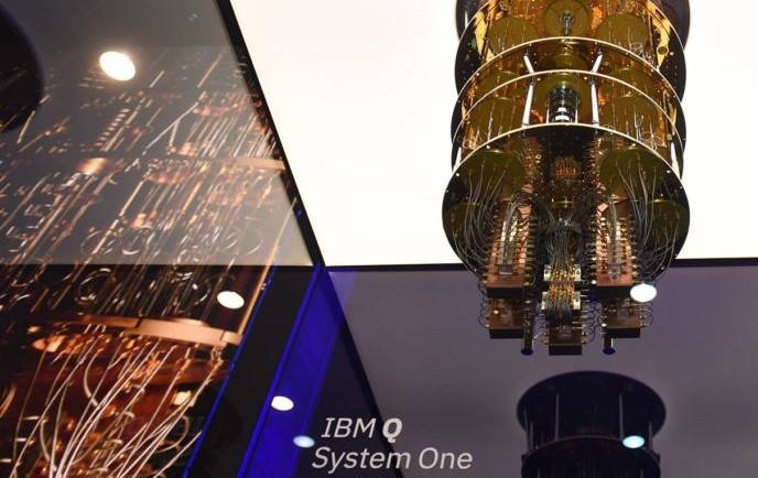 Quantum computing IBM Q System One