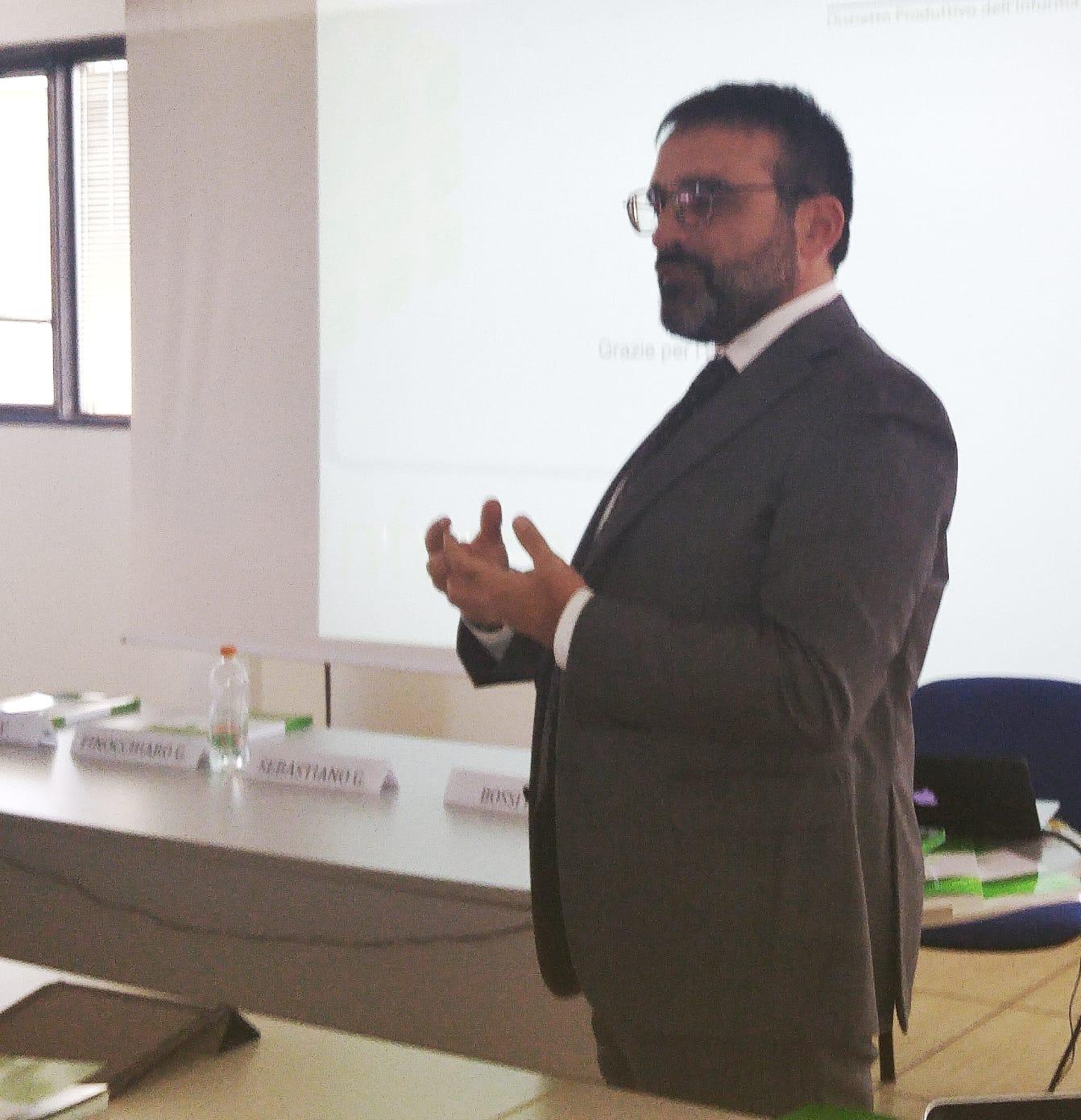 Salvatore Latronico, Distretto dell'Informatica Pugliese