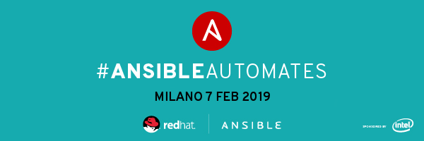 Ansible Automates Milano