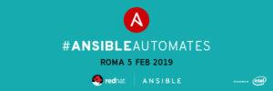 Ansible Automates Roma - 5 febbraio @ Spazio 900 | Roma | Lazio | Italia