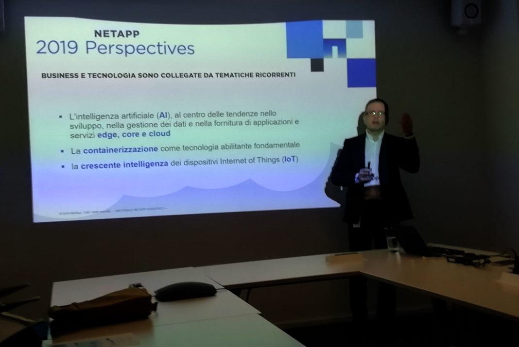Roberto Patano, Senior Manager Solutions Engineer di NetApp