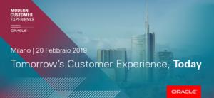 Oracle Modern Customer eXperience - Milano, 20 febbraio @ Area Pergolesi | Milano | Lombardia | Italia
