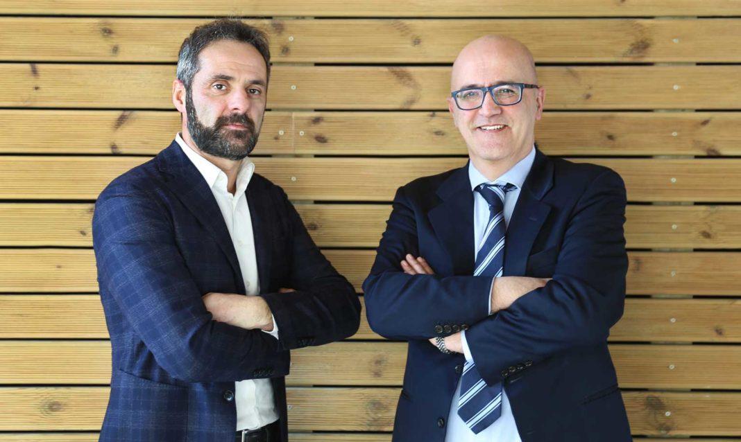 Andrea Fumagalli, Channel and Alliance Manager di NetApp e Luca Casini, Chairman - Head of Sales & Marketing di V-Valley