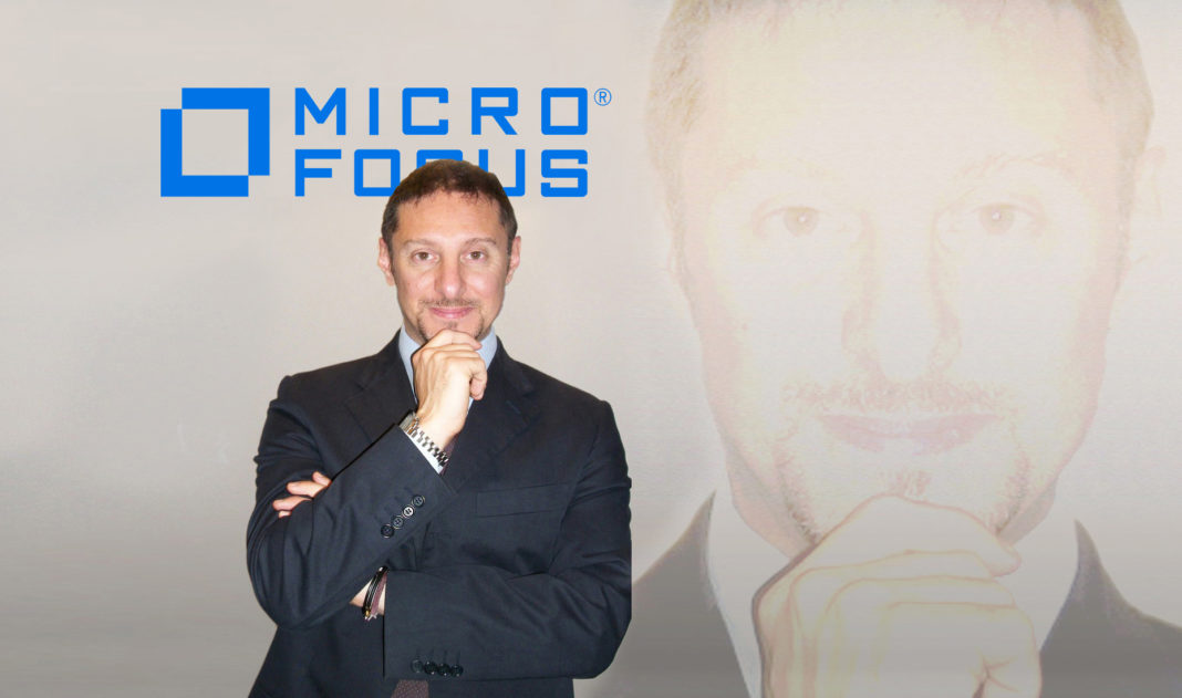 Giuseppe Gigante, EMEA AMC Solutions & Italy Marketing Manager di Micro Focus