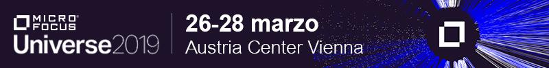 Micro Focus Universe 2019, Iscriviti!