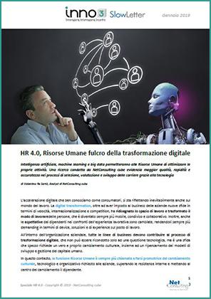 Speciale HR 4.0 - SlowLetter Gennaio 2019