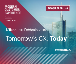 Oracle Modern Customer eXperience