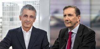 Aldo Bisio, Amministratore Delegato Vodafone e Luigi Gubitosi, Amministratore Delegato Telecom Italia