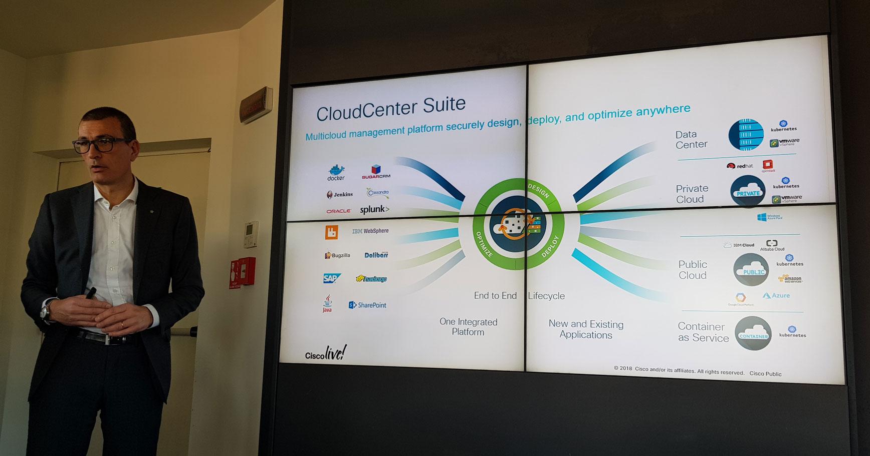 Alberto Degradi, Regional Sales Manager - Leader DC and EN sales di Cisco Systems