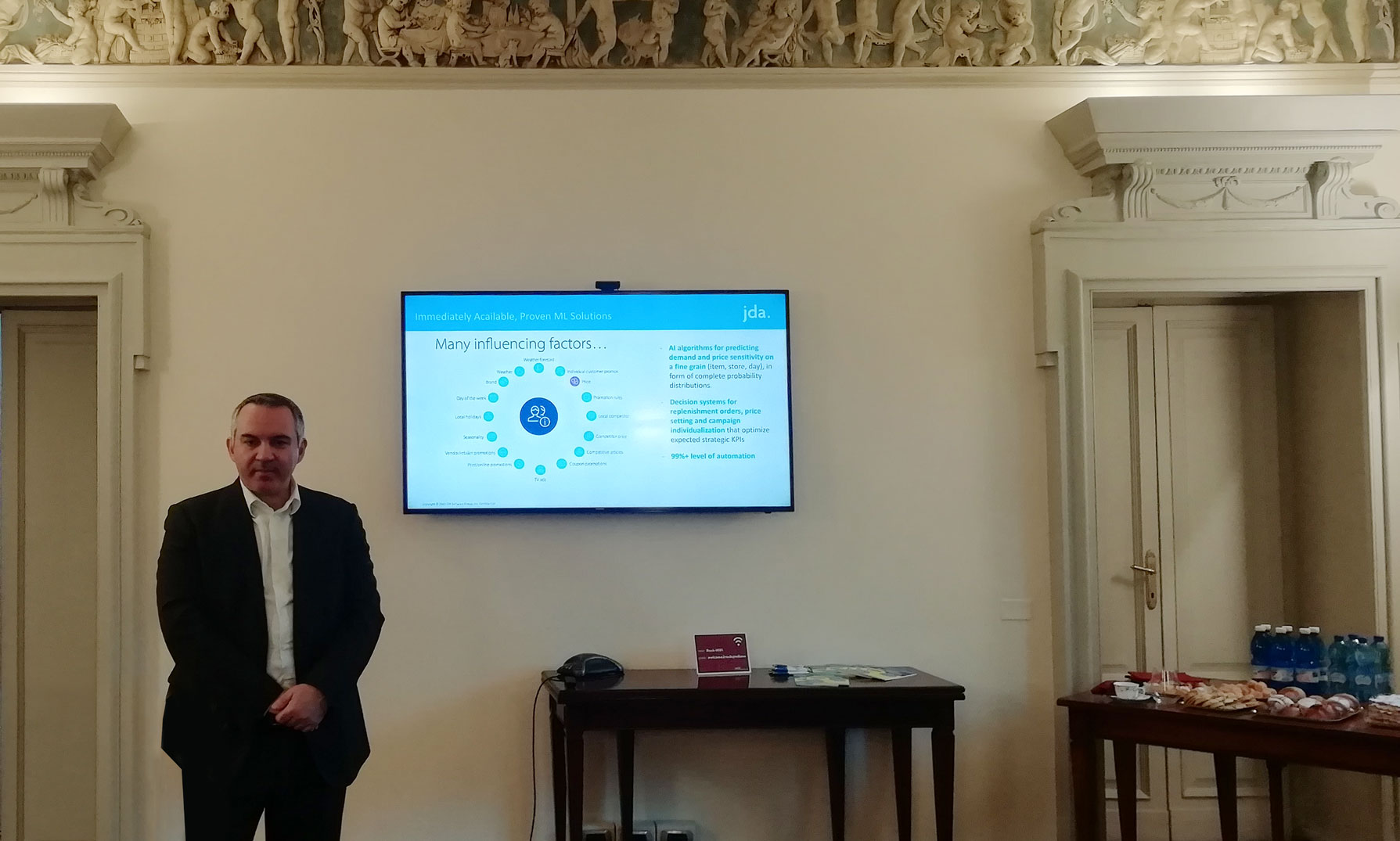 Francesco Galati, senior director, Pre-sales, JDA Software EMEA