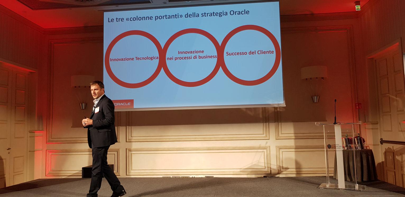 Fabio Spoletini, country manager di Oracle Italia