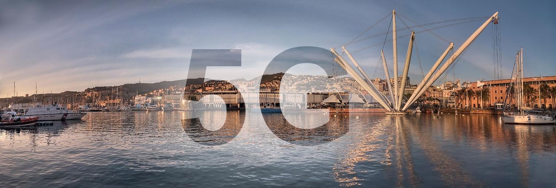 5G nel Porto Antico di Genova