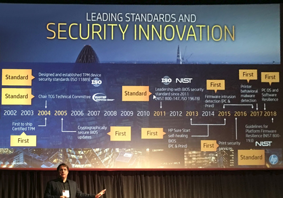 Boris Balacheff, Ct for security research & innovation per i HP Security Labs