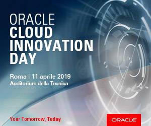 iscriviti a Oracle Cloud Innovation Day