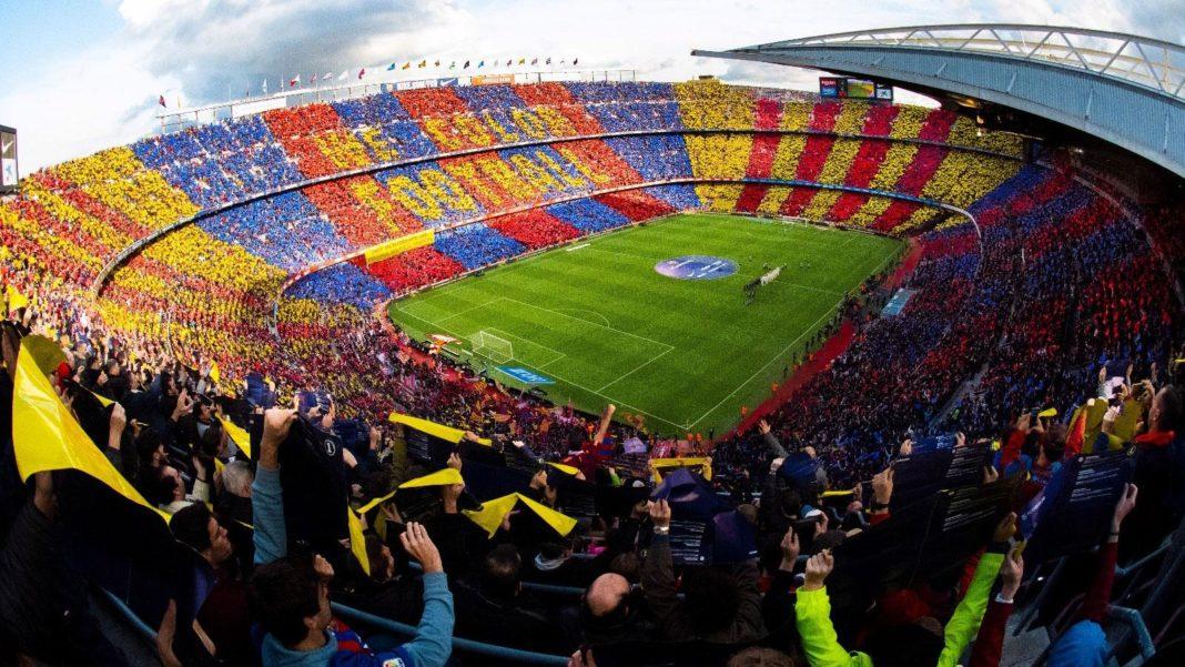 Stadio Camp Nou, Barcellona - Ericson Telefonica 5G