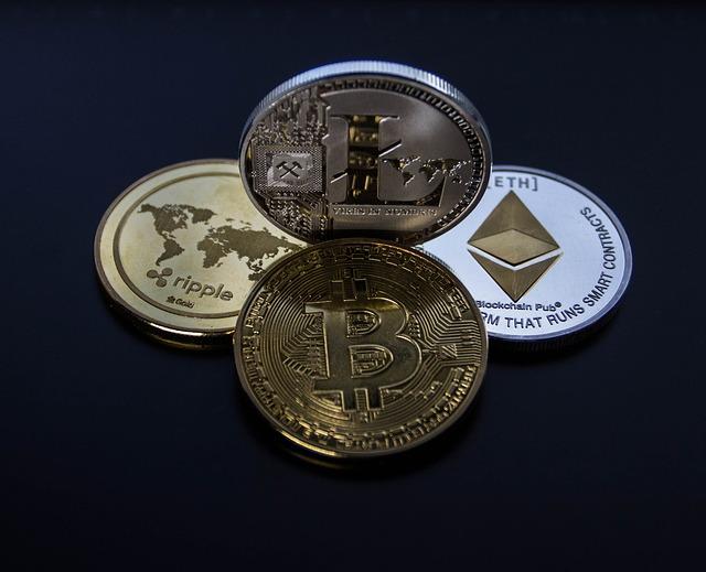 Bitcoin, Ethereum, Ripple, Litecoin