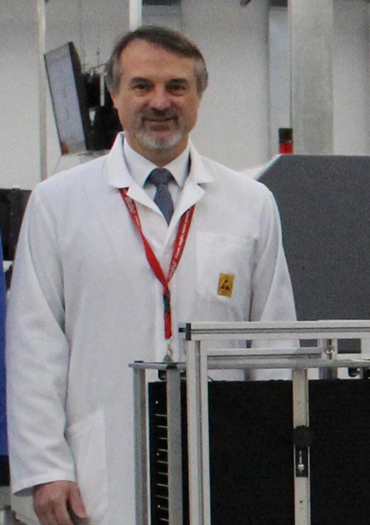 Franco Oliaro, amministratore delegato Roj Technology