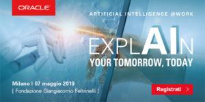Oracle ExplAIn Your Tomorrow Today @ Fondazione Giangiacomo Feltrinelli | Milano | Lombardia | Italia