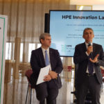Paolo Delgrosso, channel, alliance, Oem & SP sales director manager at Hewlett Packard Enterprise - Stefano Venturi, presidente e amministratore delegato Hewlett Packard Enterprise Italia e vice presidente Hewlett Packard Enterprise Inc.