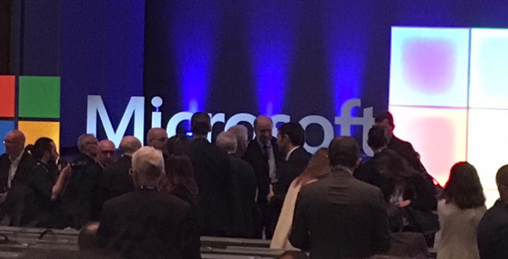 Microsoft Innovation Forum 2019, Milano - Tra gli ospiti Mario Monti, Presidente dell'Università Bocconi e Corrado Passera, fondatore di Illimity