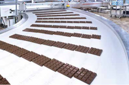 Ritter Sport - Una fase della lavorazione del cioccolato