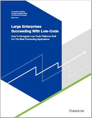 Large Enterprises Succeeding With Low-Code