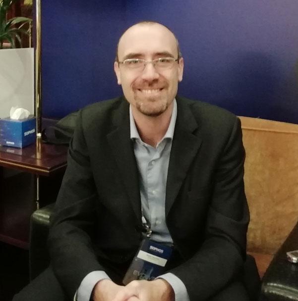 Walter Narisoni, sales engineer manager, Sophos Italia