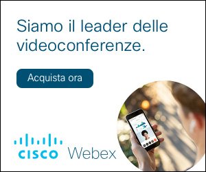 Cisco Webex, acquista ora!