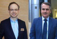 Matt Calkins, fondatore e Ceo di Appian & Paul Maguire, senior vice president Emea di Appian