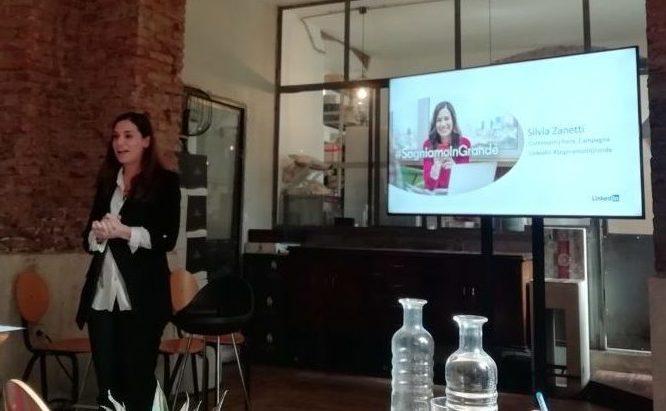 Silvia Zanetti, manager di Grenke Italia, sostenitrice di #SogniamoInGrande