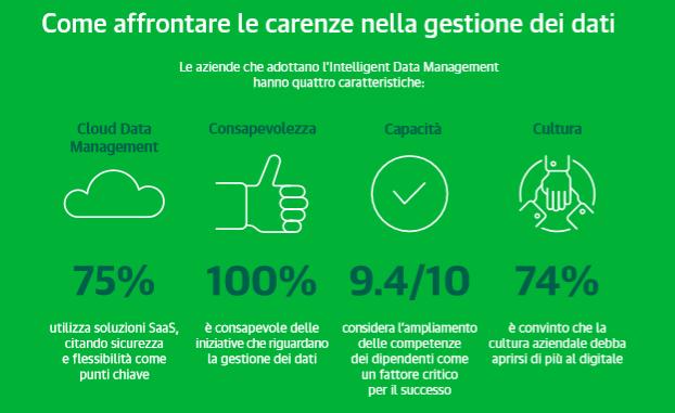 Veeam Cloud Data Management Report 2019 - Caratteristiche delle aziende che adottano IDM