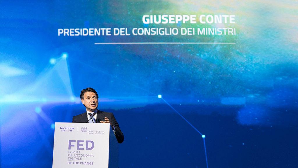 FED 2019 - Giuseppe Conte, presidente del consiglio dei ministri